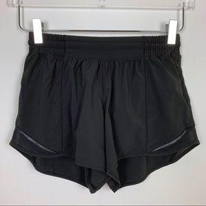 "lululemon | Hotty Hot Short II Black 4"""